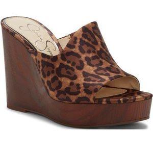 Jessica Simpson SABBEY Natural Leopard